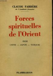 Forces Spirituelles De L'Orient. - Couverture - Format classique
