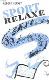 Sport Relaxe - Couverture - Format classique