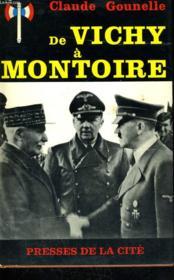 De Vichy A Montoire - Couverture - Format classique
