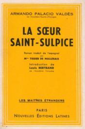 La soeur Saint-Sulpice - Couverture - Format classique