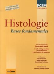 telecharger Histologie – bases fondamentales livre PDF en ligne gratuit