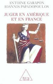 Juger en Amérique et en France - Intérieur - Format classique
