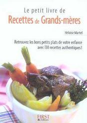 telecharger Le petit livre de recettes de grands-meres livre PDF/ePUB en ligne gratuit
