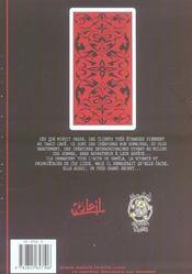 The tarot cafe t.1 - 4ème de couverture - Format classique