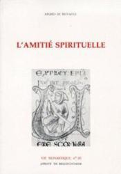 Amitie spirituelle - Couverture - Format classique