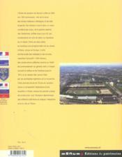 SAUMUR. L'Ecole de vavalerie. Histoire architecturale d'une cité du cheval militaire, Cahiers du Patrimoine, n°70 - 4ème de couverture - Format classique