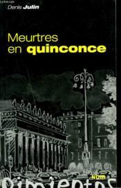 Meurtres En Quinconce - Couverture - Format classique