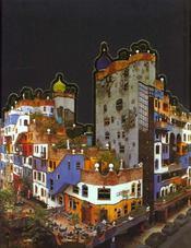 Hundertwasser - 4ème de couverture - Format classique