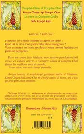 Compère Chien et Compère Chat / Konpè Chyen epi Konpè Chat ; le rêve de Compère Crabe / rèv Konpe Krab - 4ème de couverture - Format classique