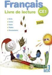 Français ; livre de lecture ; CE1 - Couverture - Format classique
