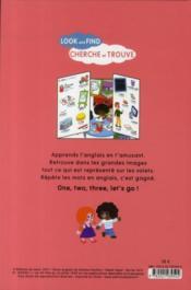 Look and find at school ; cherche et trouve à l'école - 4ème de couverture - Format classique
