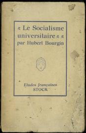 LE SOCIALISME UNIVERSITAIRE, Coll. Études françaises n°9 - Couverture - Format classique