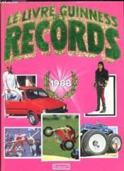 Le Livre Guinness Des Records 1988. - Couverture - Format classique
