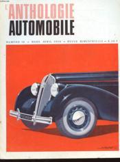 L'Anthologie De L'Automobile N°10 - Couverture - Format classique