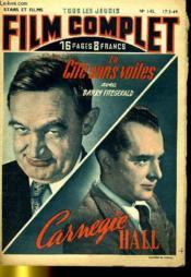 Stars Et Films - Tous Les Jeudis Film Complet N° 145 - La Cite Dans Voiles - Carnegie Hall - Couverture - Format classique