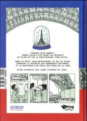 Sécurite, open your bag ! - 4ème de couverture - Format classique