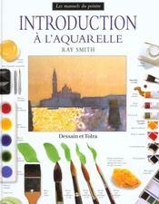 Introduction a l'aquarelle - Intérieur - Format classique