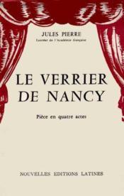 Le verrier de Nancy - Couverture - Format classique