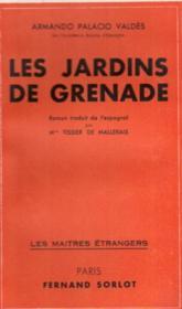Les jardins de Grenade - Couverture - Format classique