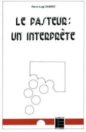 Le pateur, un interprete - Couverture - Format classique