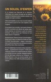 Un soleil d'enfer - 4ème de couverture - Format classique