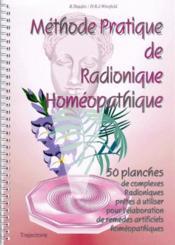Méthode pratique de radionique homéopathique - Couverture - Format classique