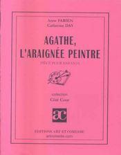 Agathe, l'araignee peintre ; piece pour enfants - Intérieur - Format classique