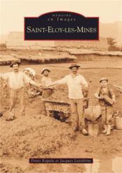 Saint-Eloy-les-Mines - Couverture - Format classique