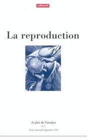 La Reproductionle Fait De L'Analyse 1 - Intérieur - Format classique