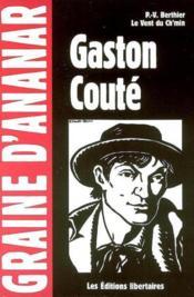 Gaston Coute - Couverture - Format classique