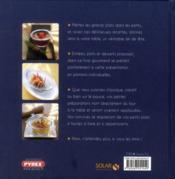 Les minis ; les grands plats dans les petits - 4ème de couverture - Format classique