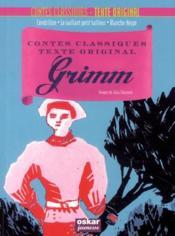 Contes classiques, texte original ; Grimm - Couverture - Format classique