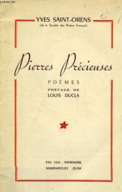 Pierres Precieuses - Couverture - Format classique