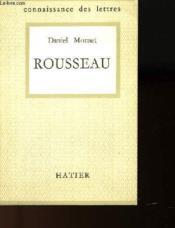 Rousseau - Connaissance Des Lettre N°28 - Couverture - Format classique