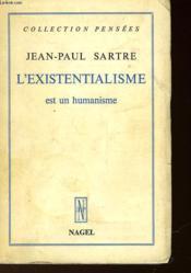 L'Existentialisme Est Un Humanisme - Couverture - Format classique