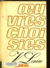 V. Lenine Oeuvres Choisies En Trois Volumes - Tome 3 - Couverture - Format classique
