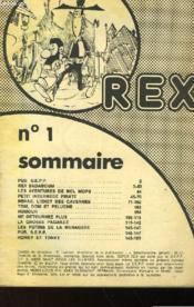 Rex N°1 - Couverture - Format classique