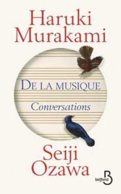 De la musique ; conversations - Couverture - Format classique