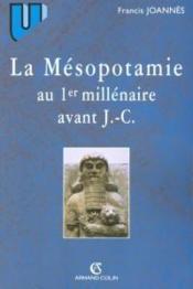 La Mésopotamie au premier millénaire avant J.-C. - Couverture - Format classique