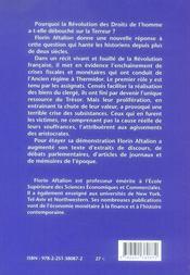 L'économie de la révolution française - 4ème de couverture - Format classique