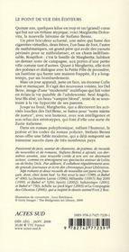 Margherita Dolcevita - 4ème de couverture - Format classique