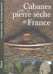 Cabanes en pierre sèche de France - Intérieur - Format classique