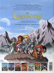 Les Légendaires T.7 ; aube et crépuscule - 4ème de couverture - Format classique