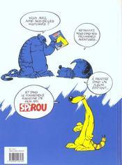 Pedro le coati t.1 - 4ème de couverture - Format classique