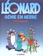 Léonard t.13 ; génie en herbe - Couverture - Format classique
