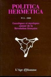 P3 Politica Hermetica 1989 - Couverture - Format classique