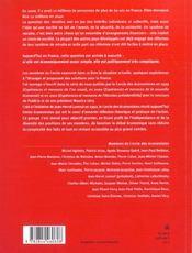 Esperances Et Menaces ; Retraites Et Solidarite - 4ème de couverture - Format classique