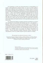 Atomisme Aux Xviie Et Xviiie Siecles - 4ème de couverture - Format classique