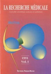 La recherche medicale. volume - Couverture - Format classique