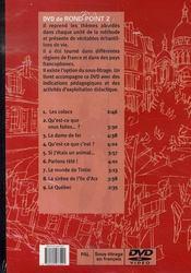 Rond point niveau 2 - 4ème de couverture - Format classique